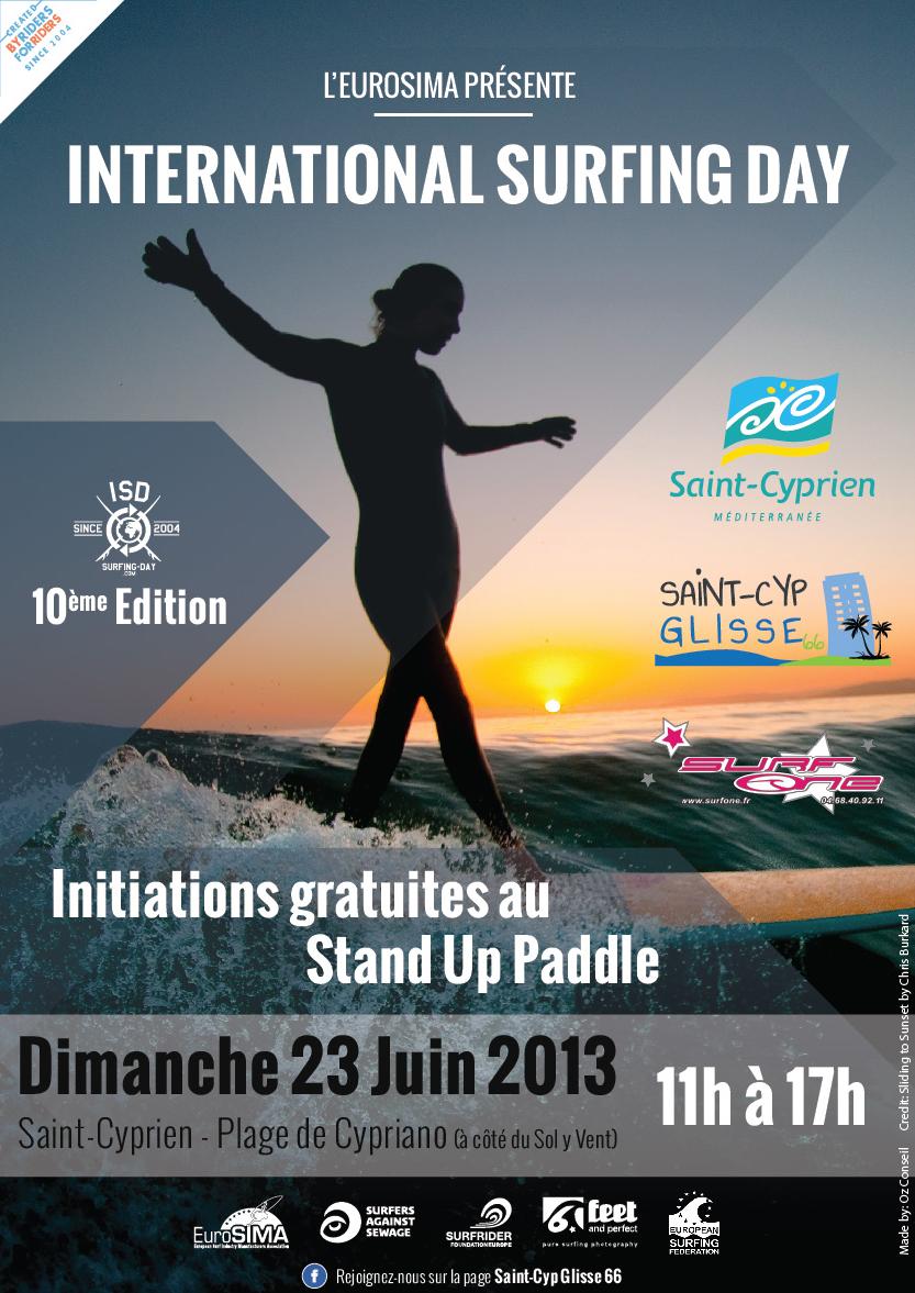 AFFICHE_ISD_SURFONE_SCG66_Initiation SUP_2013